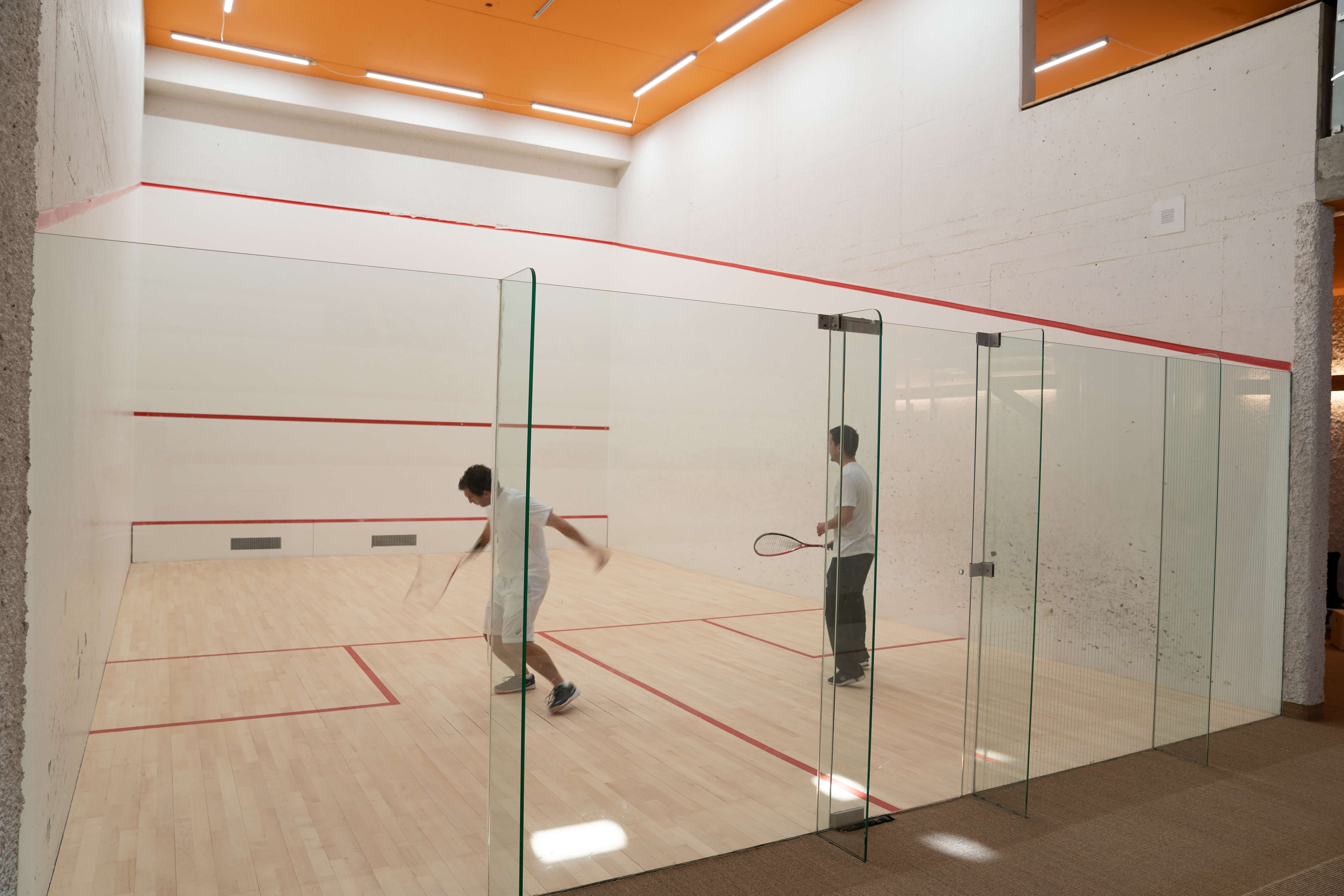 Squash Court im Body Boost